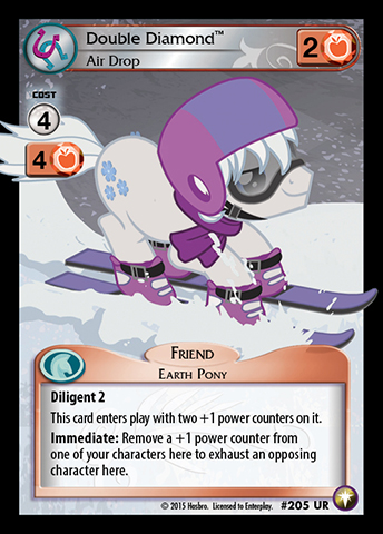 File:Double Diamond, Air Drop card MLP CCG.jpg