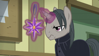 Professor Flintheart looking disapprovingly S6E8