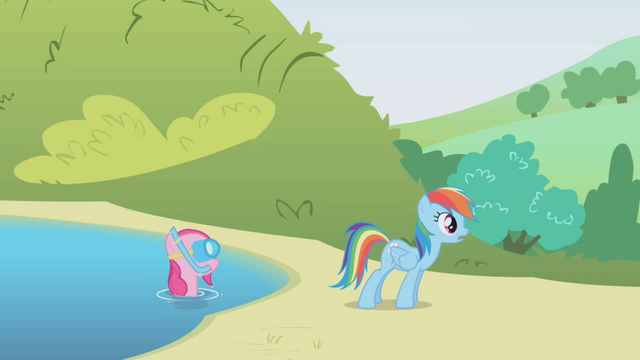 File:Pinkie Pie in the lake S1E5.png