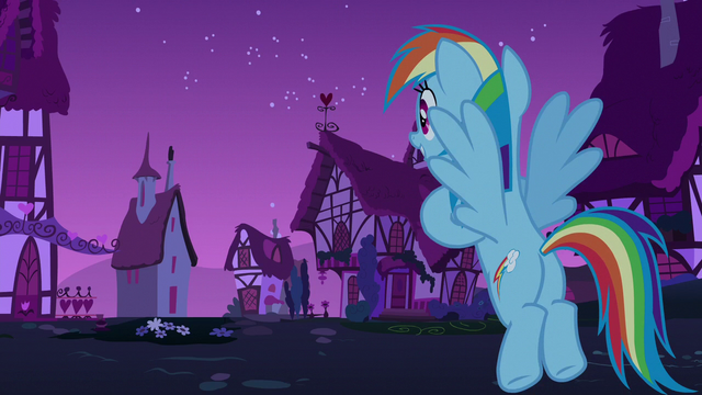 File:Rainbow Dash looking out toward Ponyville S6E15.png