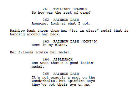 File:Wonderbolts Academy script - original ending (part 2).jpg