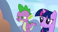 A grumpy Spike S1E13