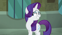 Rarity grinning with pride S5E16