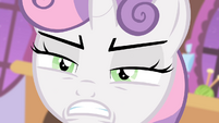 Sweetie angry face S4E19