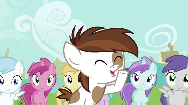 "File:Pipsqueak ""We love you, Cutie Mark Crusaders!"" S4E15.png"