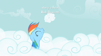 Rainbow Dash cloud puff S2E8