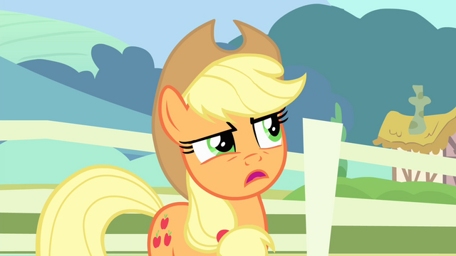 File:Applejack 'Maybe' S4E11.png