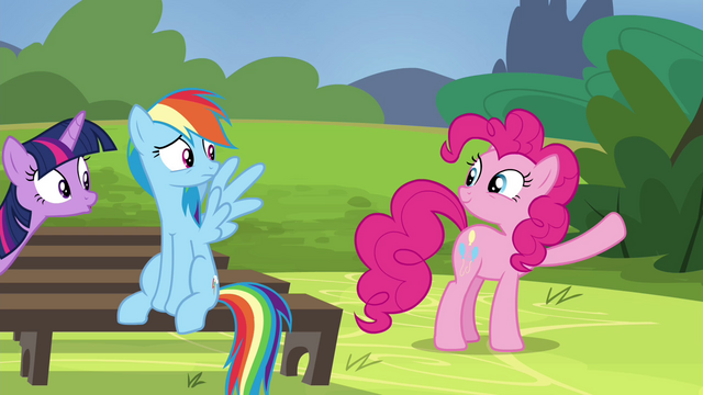File:Pinkie Pie about to break into song S4E21.png