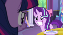 Starlight Glimmer embarrassed grin S6E6