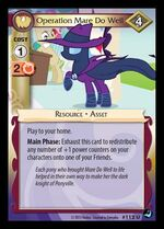 Operation Mare Do Well card MLP CCG