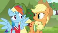 Rainbow and Applejack have an idea S6E18