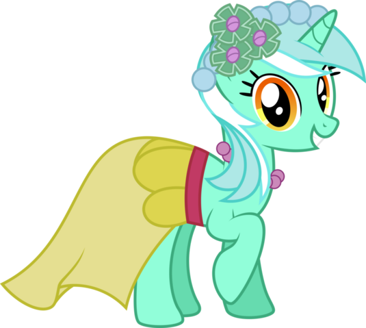 File:FANMADE Lyra Heartstrings wedding bridemaid by Anbolanos91.png