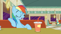 "Rainbow ""right?"" S6E9"
