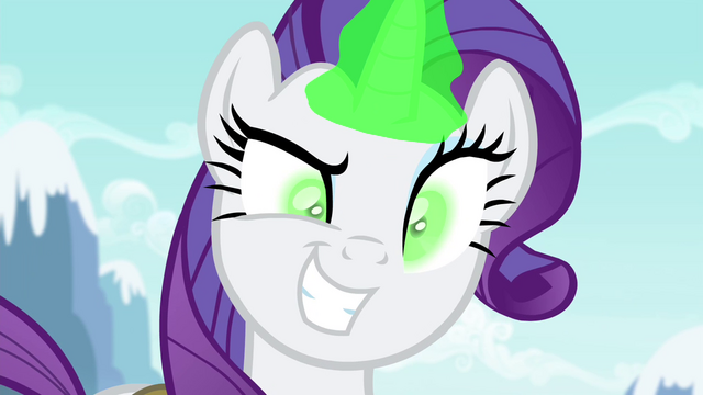 File:Rarity with a sinister grin S4E23.png