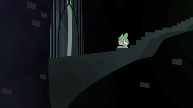 File:A hidden stairway in the Castle of the Royal Pony Sisters, S4E22.png