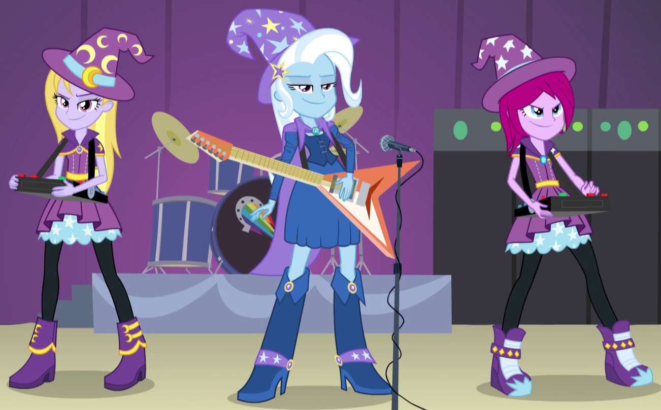 Trixie and the illusions my little pony friendship is - My little pony wikia ...