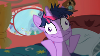 Twilight Sparkle weird face S2E03