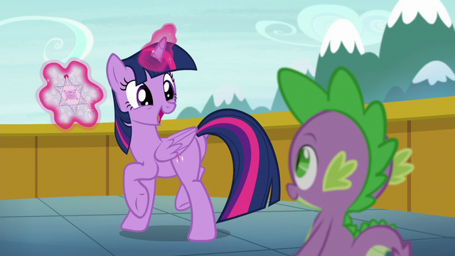 "File:Twilight ""Shining Armor's a father!"" S6E1.png"