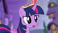 Twilight 'why are you all looking at me like that?' S4E2