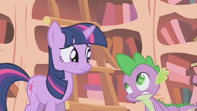File:Twilight and Spike worried S1E05.png