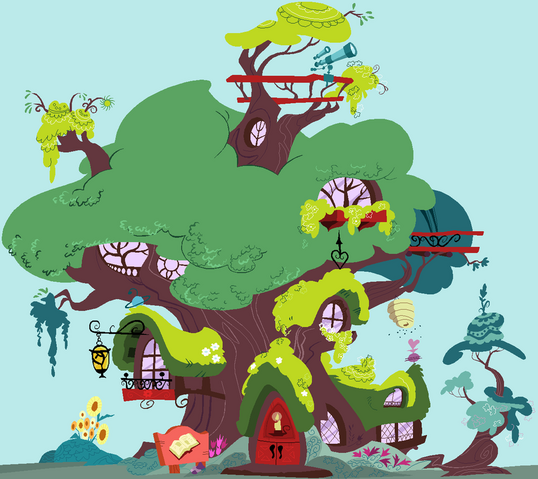 File:FANMADE Golden Oaks Library by SelenaEde.png