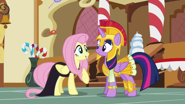 File:Fluttershy and Twilight in costume S5E21.png