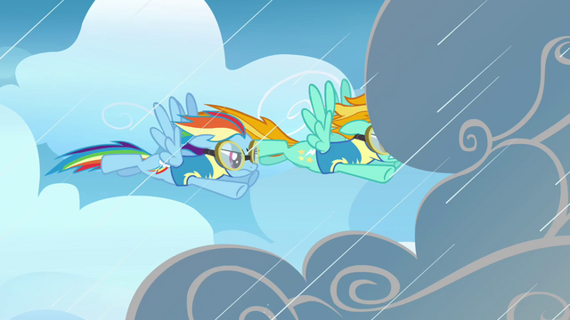 File:Lightning and Rainbow going through the rainclouds S3E07.png