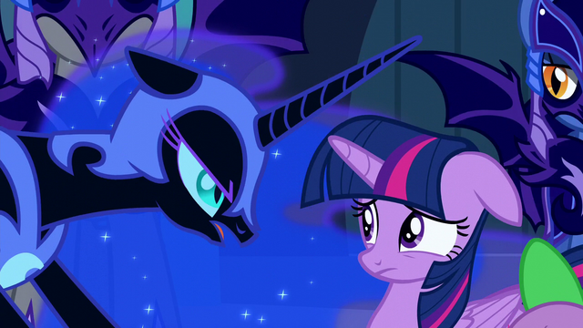 "File:Nightmare Moon ""But it is no less a fate..."" S5E26.png"