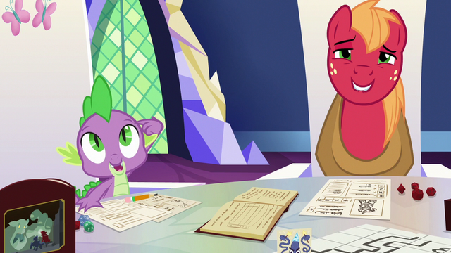 "File:Spike ""you get to use your imagination"" S6E17.png"