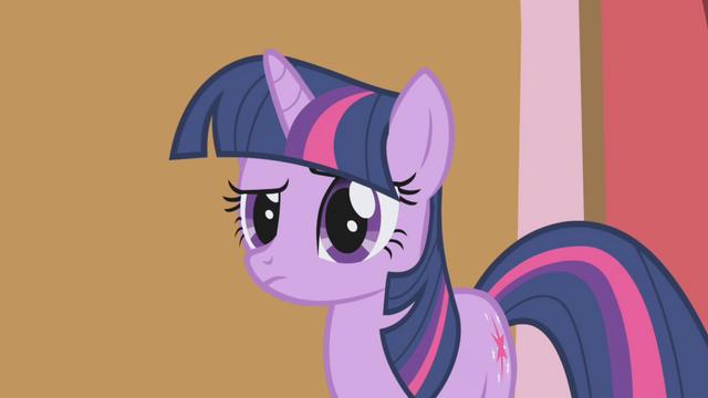 "File:Twilight Sparkle ""hmm"" S1E04.png"