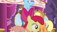 Apple Bloom joins Scootaloo and Sweetie Belle S5E7