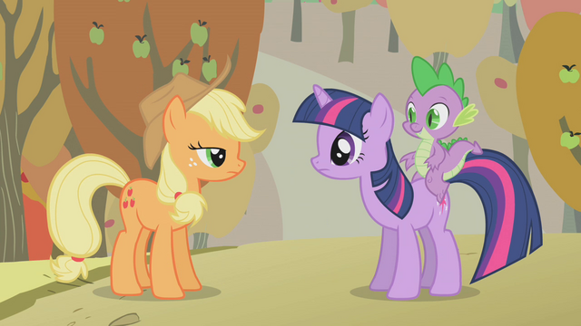 File:Applejack and Twilight S01E13.png