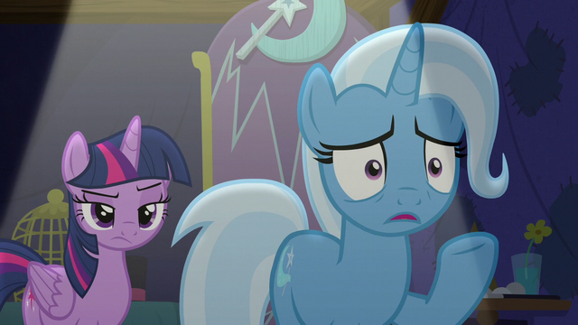 "File:Trixie ""saying that didn't help"" S6E6.png"