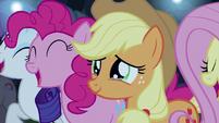 Applejack moved to tears S5E24