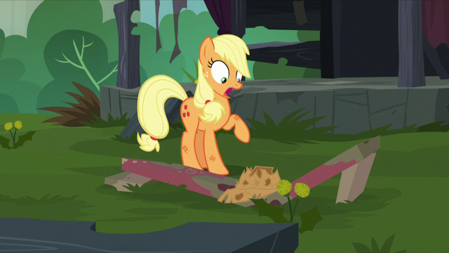 File:Bench breaks under Applejack's hat S5E16.png