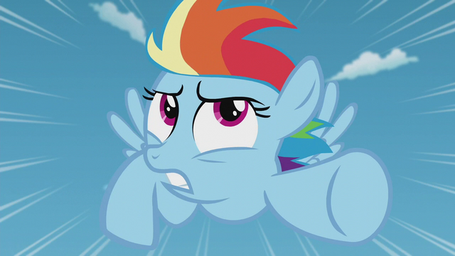 "File:Filly Rainbow ""it's not even a real thing!"" S5E25.png"