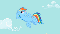 Rainbow Dash can't hear S2E8