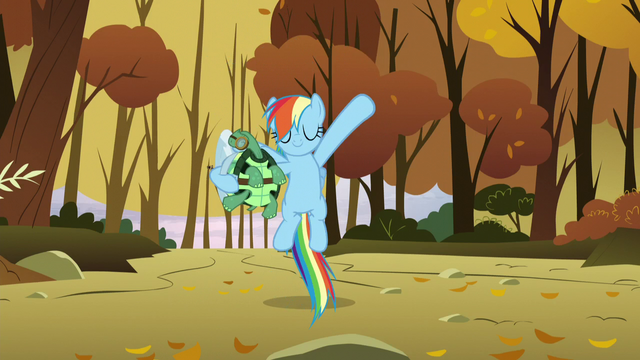 File:Rainbow goes down onto the ground S5E5.png