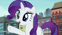 "Rarity ""I know exactly what you should do!"" S6E3"