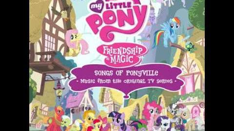 MLP FiM Songs of Ponyville Album (Raise This Barn)