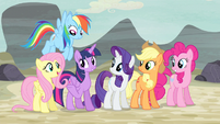 "Twilight and friends ""it sent US"" S5E2"
