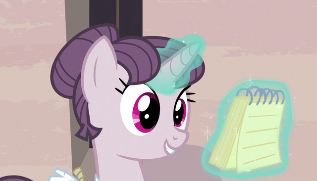"File:Sugar Belle ""we have muffins"" S5E1.png"