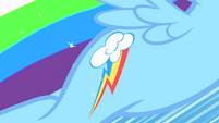Rainbow Dash earns her cutie mark S1E23