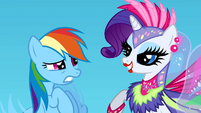 Rainbow Dash worried S1E16