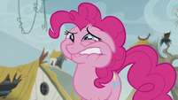 Pinkie feeling pain from chewing the scone S5E8