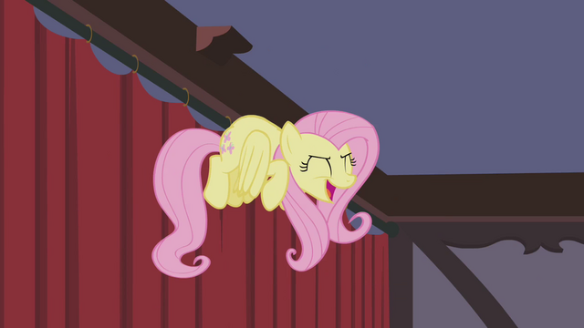 File:Fluttershy losing herself to the music S4E14.png