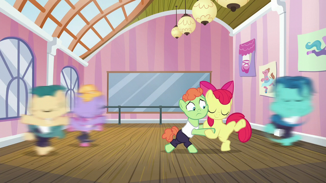File:Apple Bloom continues tangoing with colt S6E4.png