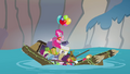 Apple family raft collapsing S4E09.png