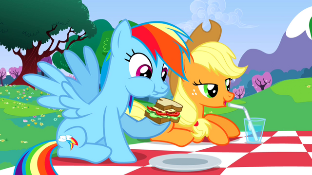 File:Rainbow Dash eating sandwich S2E25.png