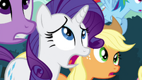 Rarity frightened S4E18